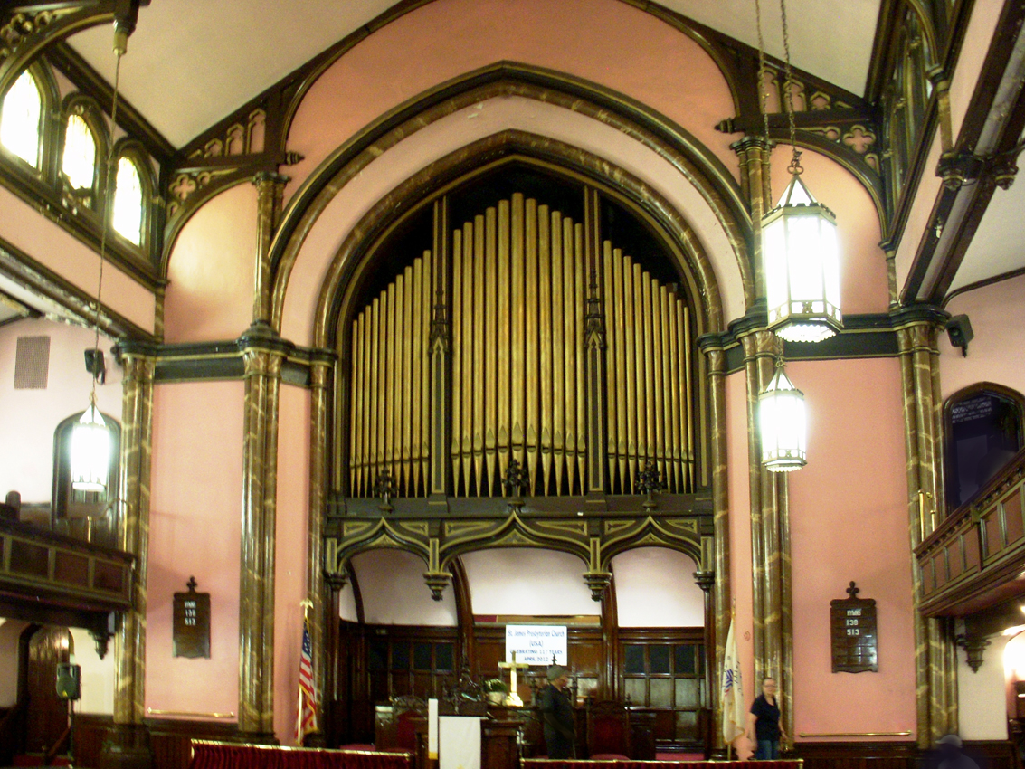 Estey Organ, Op. 3112A at St. James Presbyterian Church - New York City (photo: Dave Schmauch)