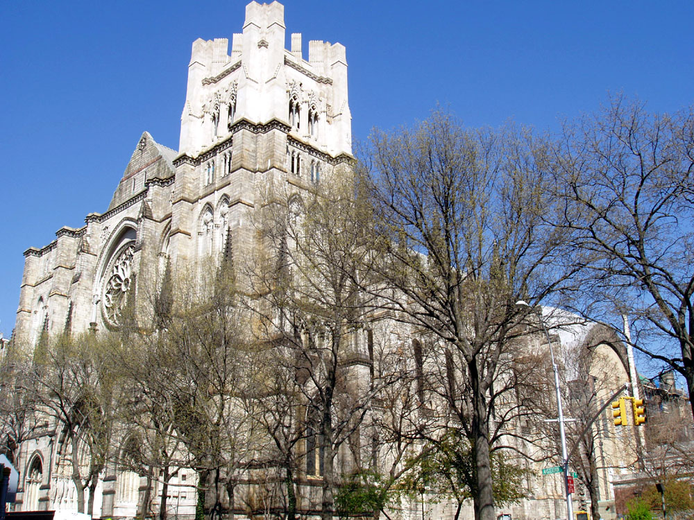 2008 photo of Cathedral Church of St. John the Divine - New York City (Steven E. Lawson)