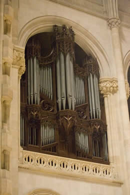 Aeolian-Skinner organ, Op. 150-A at the Cathedral Church of St. John the Divine - New York City