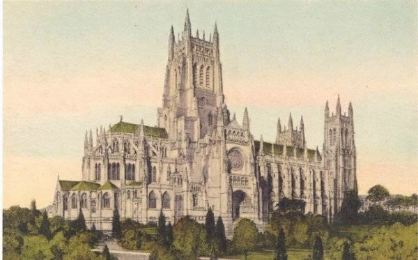 Architectural Rendering for Cathedral Church of St. John the Divine - New York City