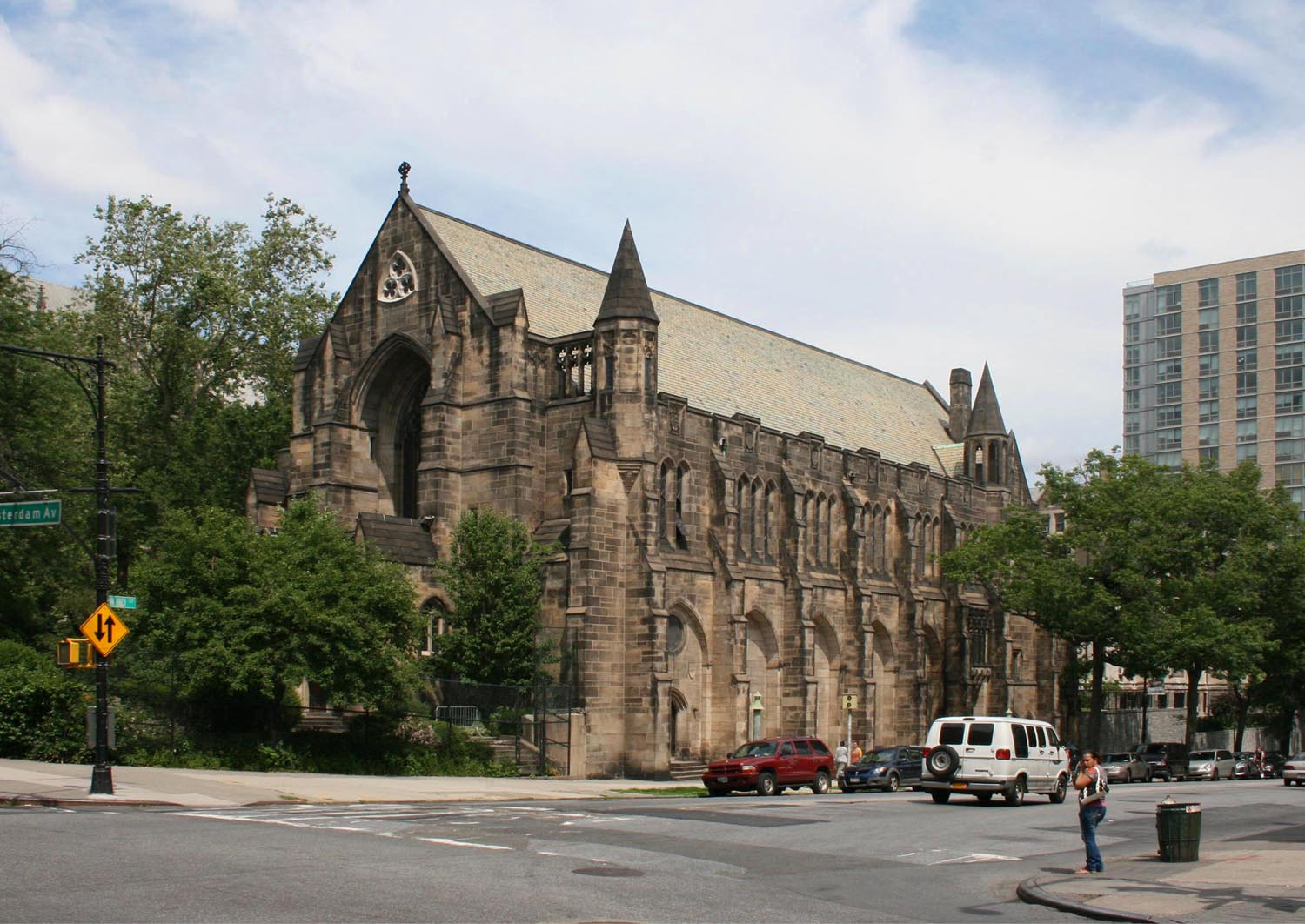 Synod House - Cathedral Church of St. John the Divine - New York City (photo: Steven E. Lawson)