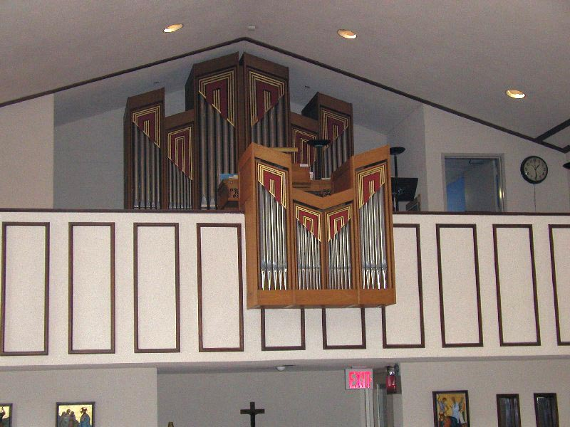 Rieger Organ (1970) at St. John's in the Village Church - New York City (photo: Steven E. Lawson)