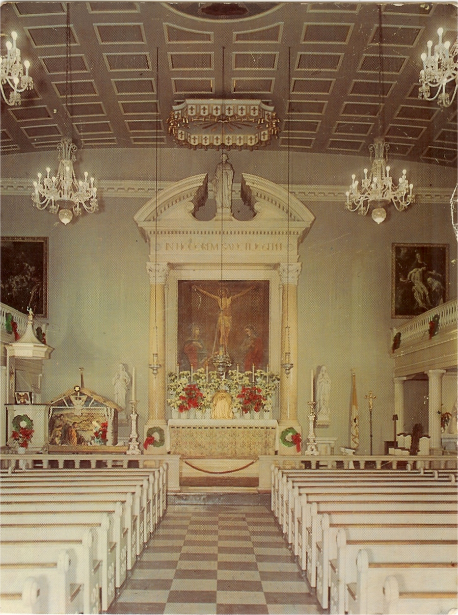High Altar in 1960 - The University Parish of St. Joseph - NYC (Photo: St. Joseph Church)