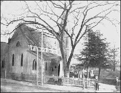 1854 building of St. Michael's Episcopal Church - New York City