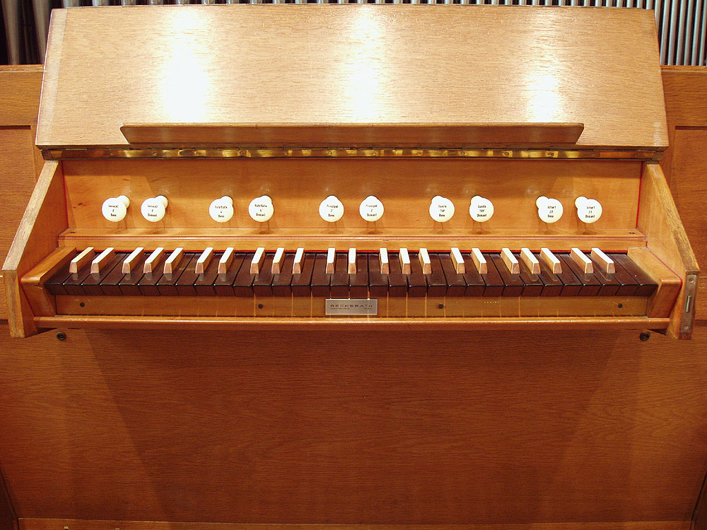 Rudolf von Beckerath Organ (1965) in the Chapel of the Angels at St. Michael's Episcopal Church - New York City (photo: Steven E. Lawson)
