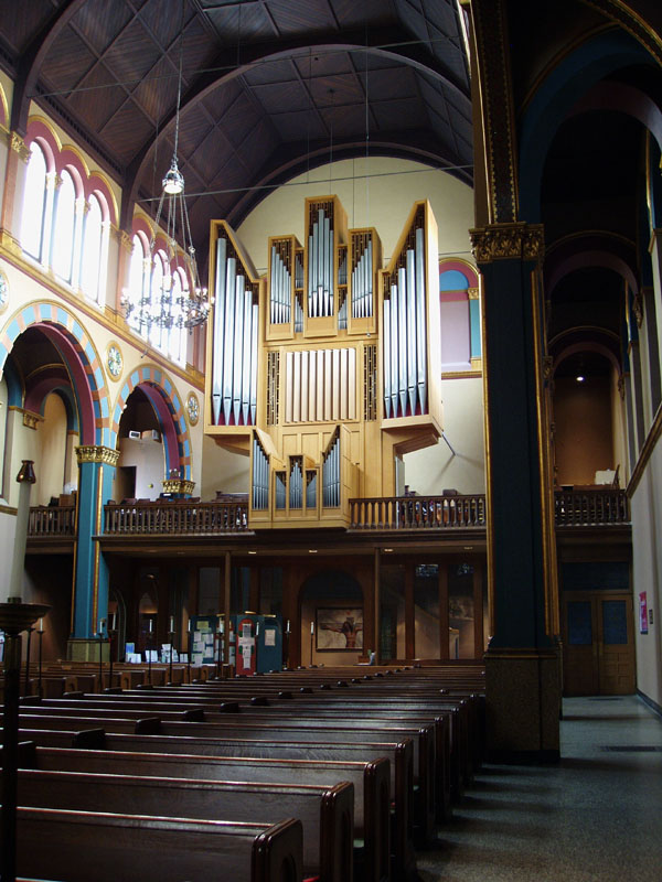 Rudolf von Beckerath Organ (1967) in St. Michael's Episcopal Church - New York City (photo: Steven E. Lawson)