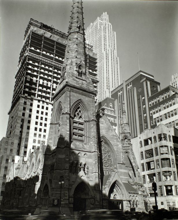 1930s view of St. Nicholas Collegiate Church - New York City