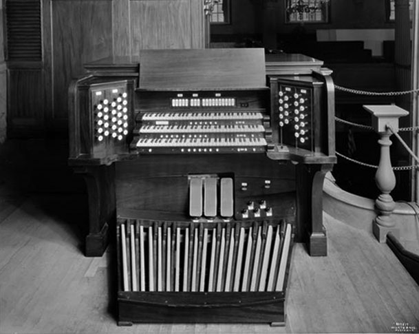 Skinner Organ, Op. 768 (1929) in St. Paul's Chapel (Trinity Church) - New York City