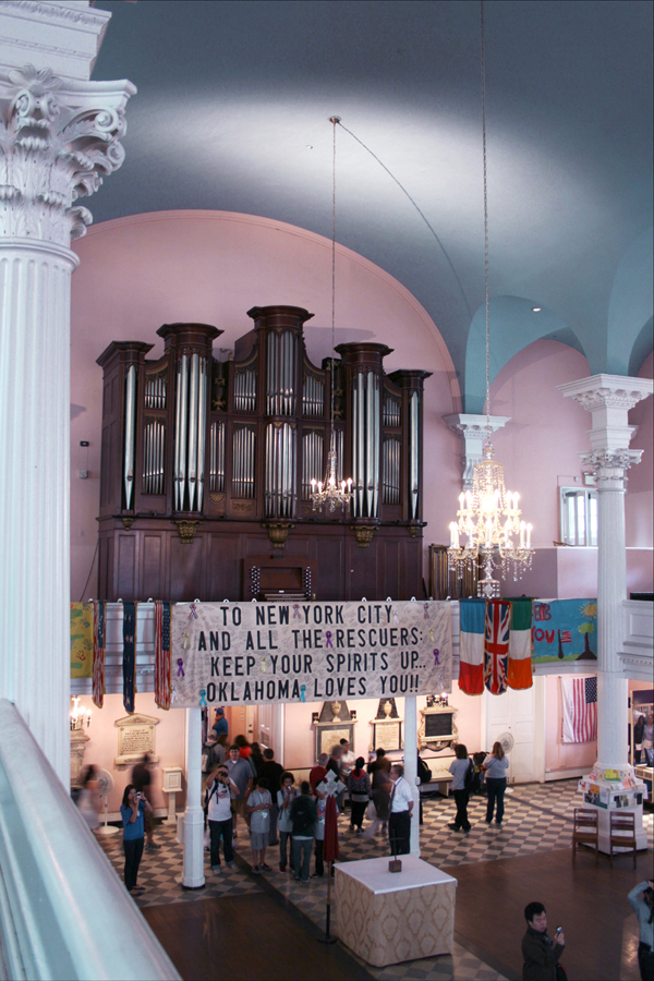 Schlicker organ (1964) in St. Paul's Chapel (Trinity Church) - New York City (photo: Steven E. Lawson)