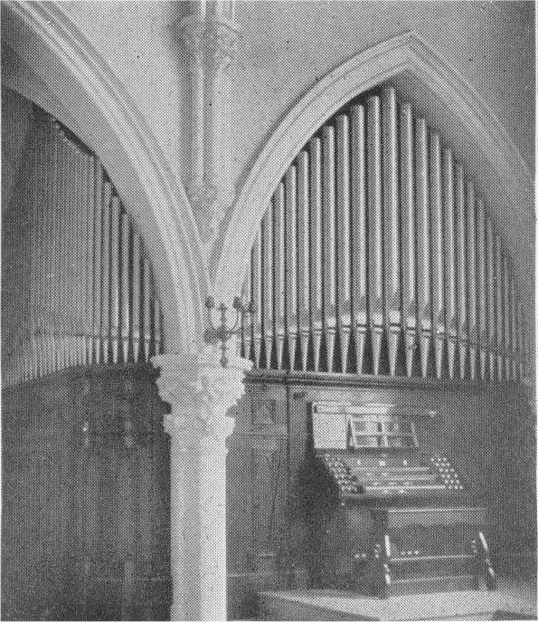 Eifert & Stoehr organ (1905) at St. Peter's Lutheran Church - New York City (Courtesy St. Peter's Lutheran)
