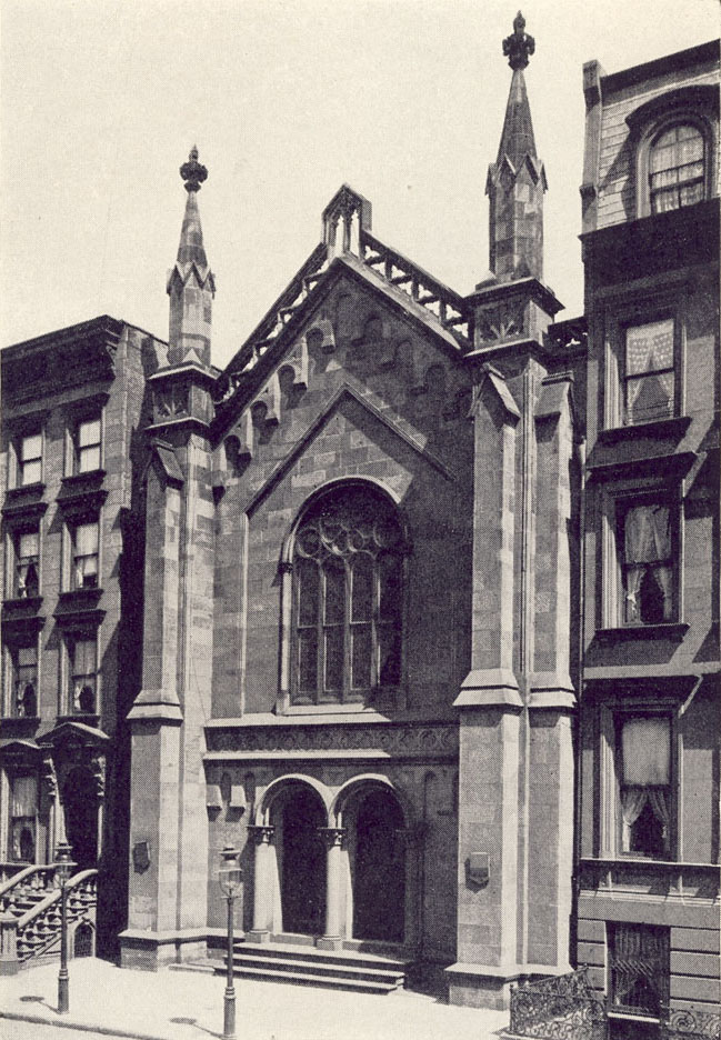 St. Stephen Episcopal Church at 57½ West 46th Street (1873-1897) - New York City