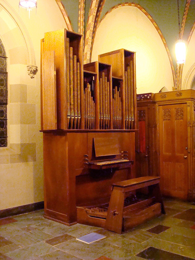 Flentrop Organ (1960) in St. Thomas More Catholic Church - New York City (credit: Renée Anne Louprette)