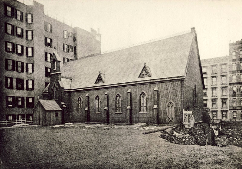 St. Timothy Protestant Episcopal Church on West 56th Street - New York City (Diocese of New York Archives)