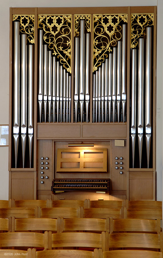 Walter Thür Organ - Svenska Kyrkan (Swedish Seaman's Church) - New York City (Photo: John Rust)