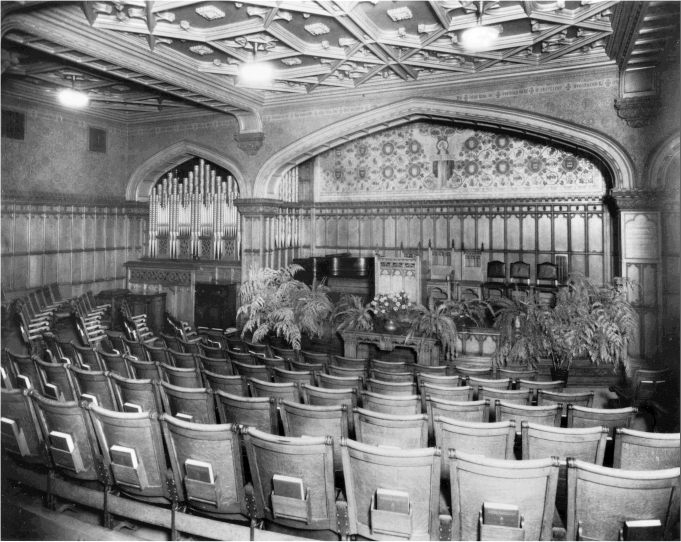 Milbank Chapel, c.1930 - Teachers College, Columbia University - New York City