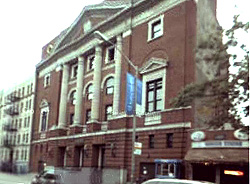 Temple Israel of Washington Heights (1926-1931) - New York City (now Schottenstein Center of Yeshiva University)