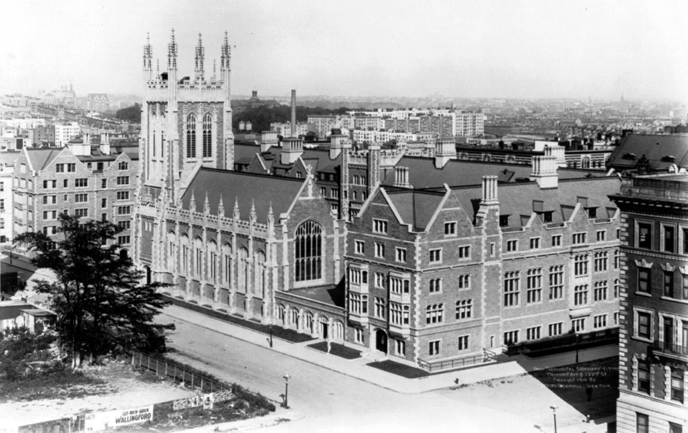 1910 view of Union Theological Seminary - New York City (Library of Congress)