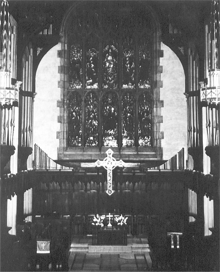 M.P. Möller Organ, Op. R-651 (1961) at James Chapel of Union Theological Seminary - New York City