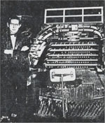 Emil Velazco at the Roxy Theatre Kimball Organ - New York City