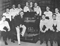 Emil Velazco and students at Emil Velazco Organ Studio - New York City