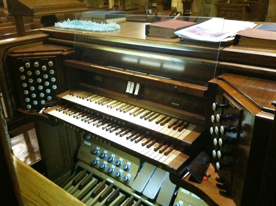 Reuter Organ, Op. 2103 (1988) in All Saints Episcopal Church - Woodhaven (Queens), N.Y.