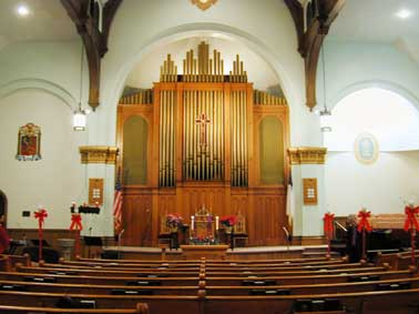 E.M. Skinner Organ, Op. 813 (1929) at Bowne Street Community Church - Flushing (Queens), NY