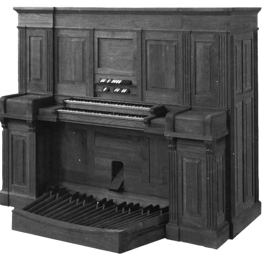 "Estey Organ Company ""Upright Minuette"" model with automatic player (credit: Estey Organ Company)"