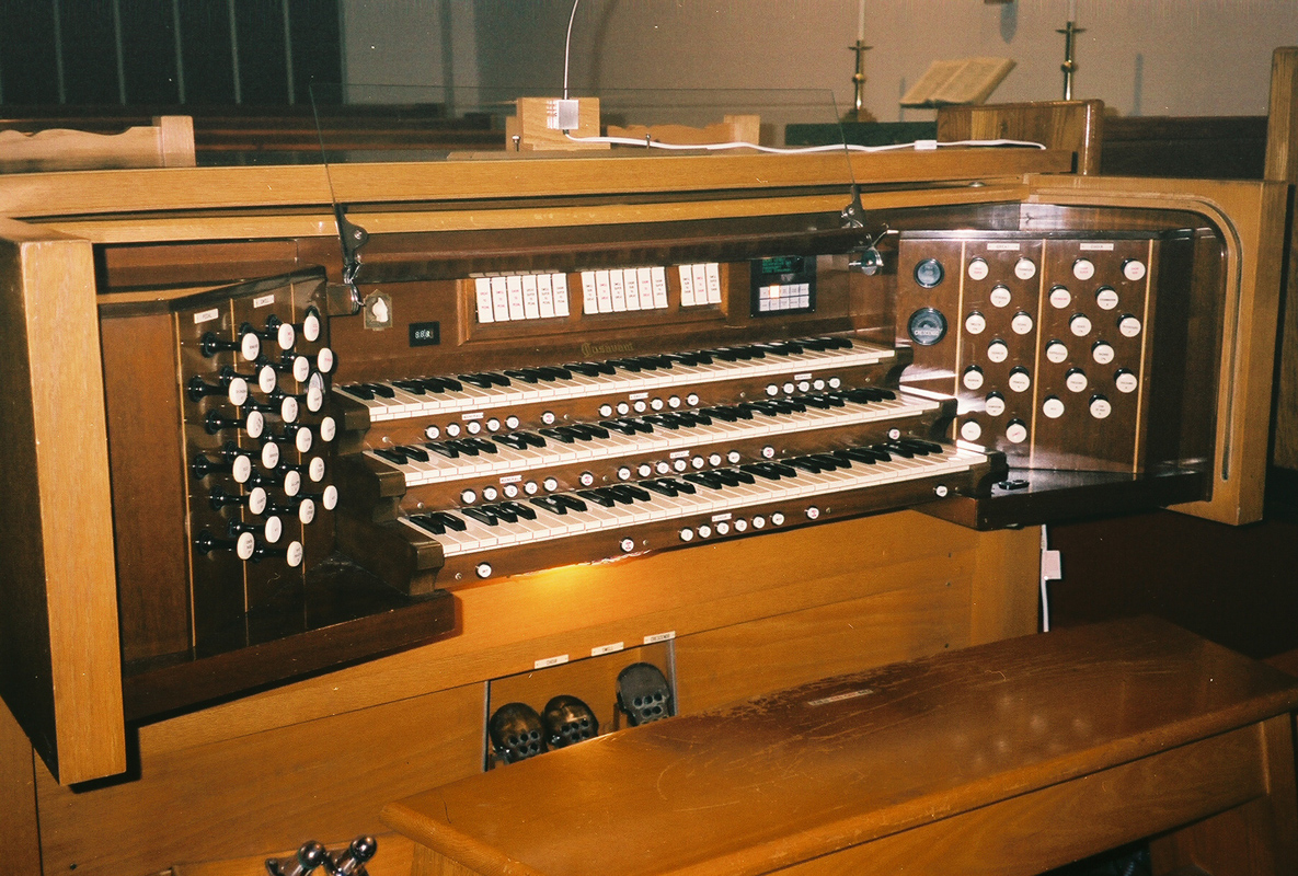 Updated Console of Casavant Frères Organ, Op. 2523 (1959) at Church - Flushing (Queens), N.Y.