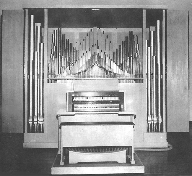 Schlicker Organ, Op. 8190 (1962) in Colden Auditorium, Queens College - Flushing, NY