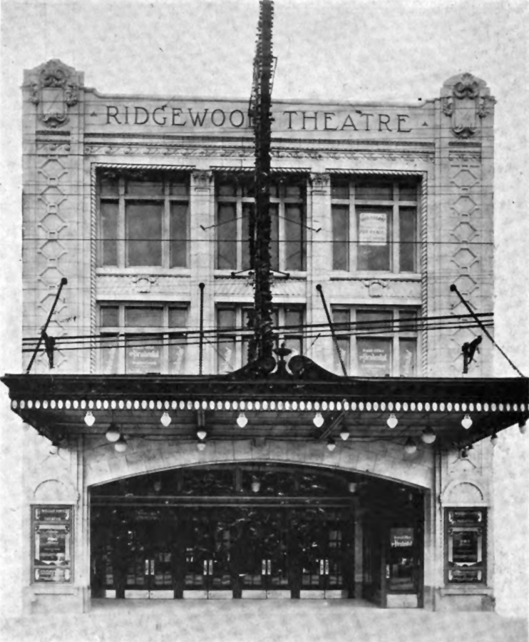 1918 photo of Ridgewood Theatre - Ridgewood (Queens), NY
