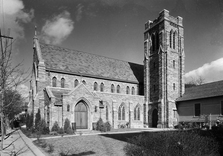 1931 photo of ST. Matthew Episcopal Church - Woodhaven (Queens, N.Y. (MCNY)