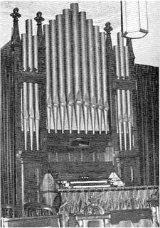 Steere & Turner Organ, Op. 304 (1890) in Trinity Lutheran Church - Long Island City (Queens), NY