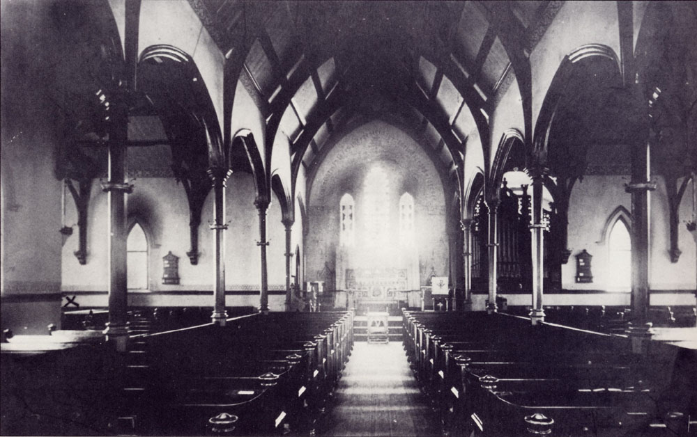 Henry Erben Organ (1856) in Christ Church, New Brighton - Staten Island (Episcopal Diocese of New York Archives)