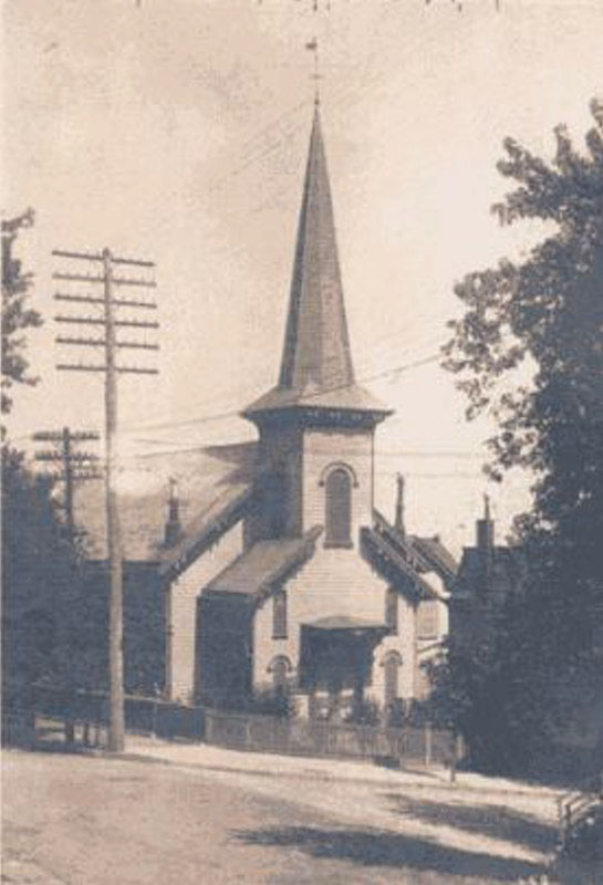 Original building (1866-1913) of Trinity Lutheran Church - Stapleton, Staten Island, New York