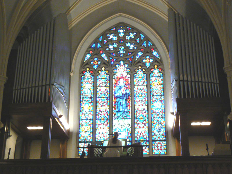 Casavant Organ, Op. 2167 (1953) in Trinity Evangelical Lutheran Church - Stapleton, Staten Island, New York
